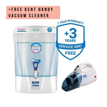 Kent Pristine Plus 8L RO+UV+UF+TDS Water Purifier (+Free Kent Handy Vacuum Cleaner)