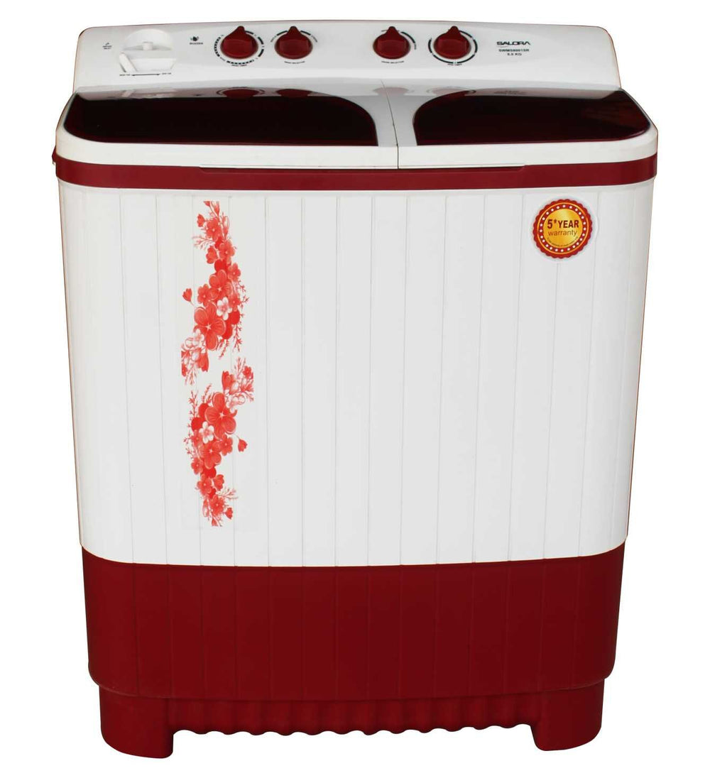 SEMI AUTOMATIC WASHING MACHINE SWMS8001SR 8.0KG, SHINE RED