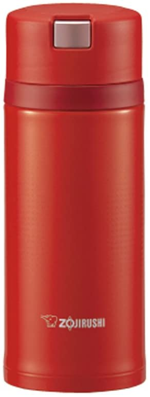 Zojirushi Stainless Steel Vacuum Insulated Bottle 0.36L (SM-XB36 RV)