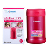 Zojirushi Stainless Steel Vacuum Insulated Food Jar, 500 ML Candy Pink (SW-EAE-50-PJ)