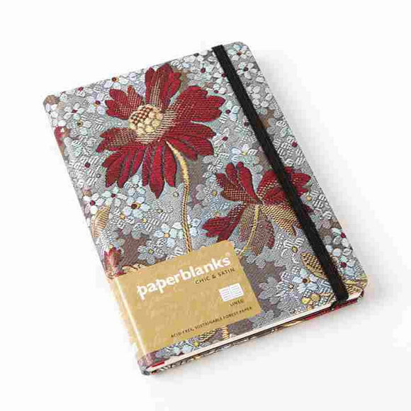 PaperBlanks Chick and Satin Painted Lady Hard Cover Unlined, Mini