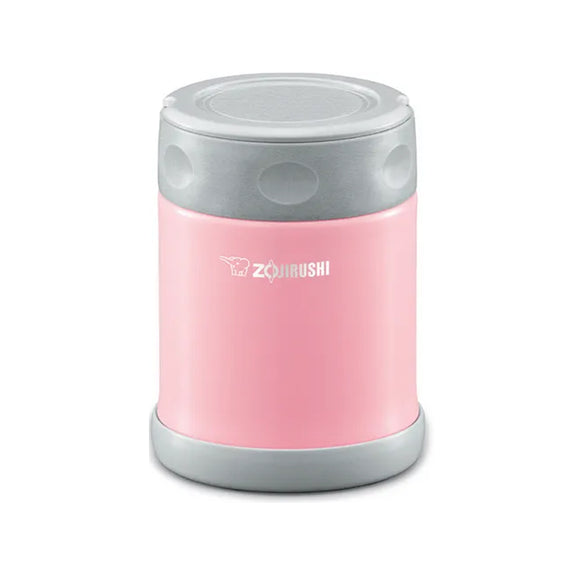 Zojirushi Stainless Steel Vacuum Insulated Food Jar, 350ml, Pink (SW-EAE-35-PA)