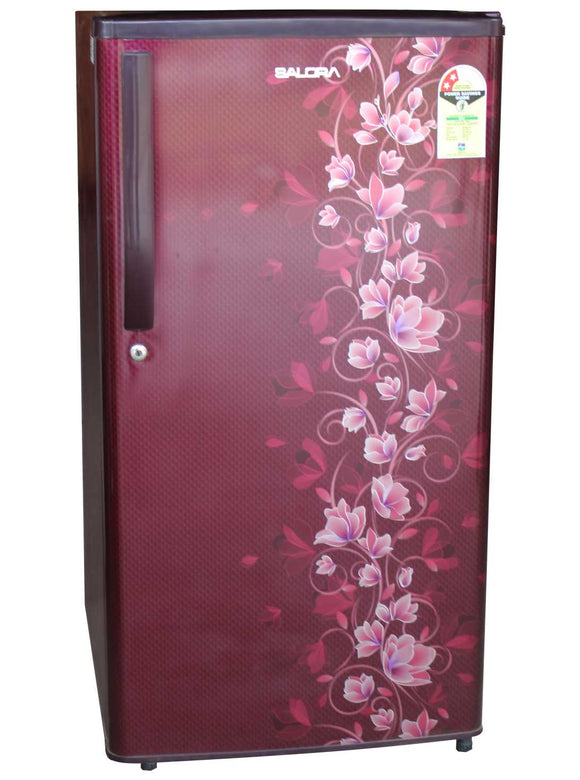 Salora Refrigerator 180L 2 Star Single Door SFD-1852HWN