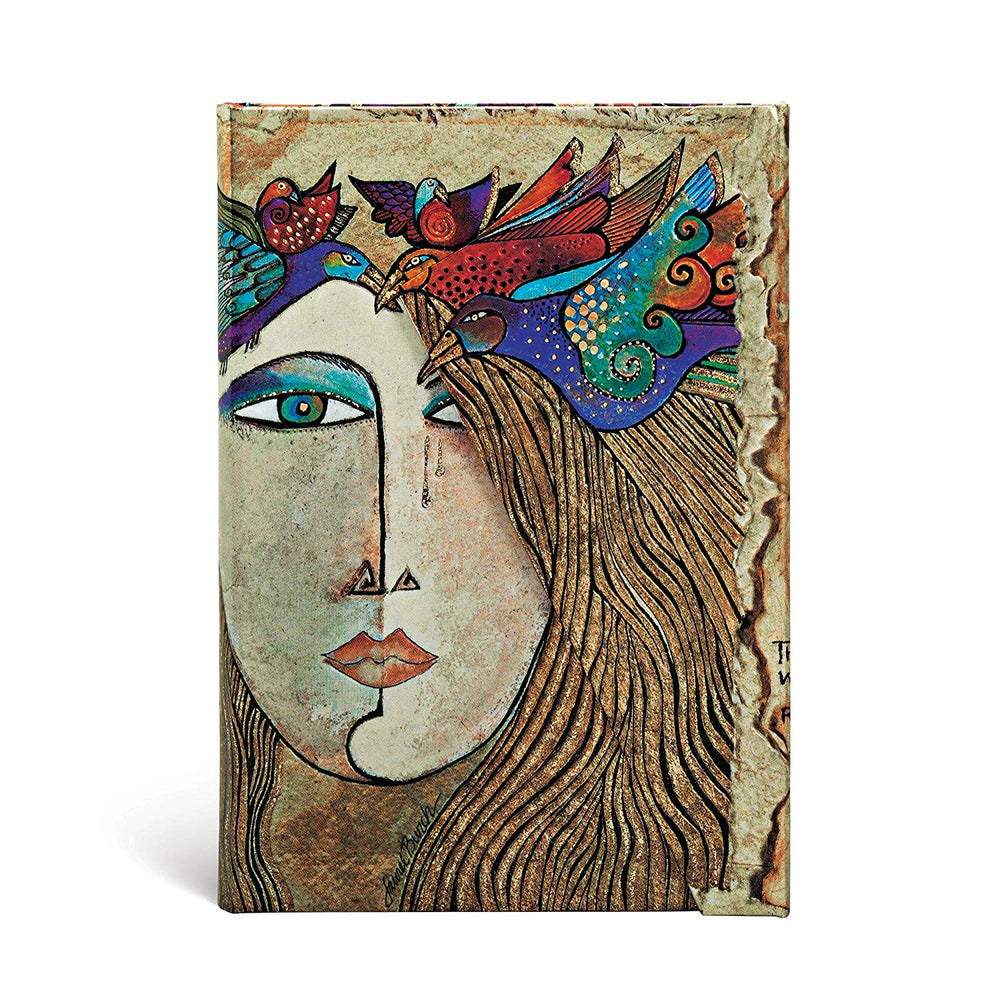 PaperBlanks Spirit of Womankind Soul and Tears Hard Cover Single Ruled, Mini