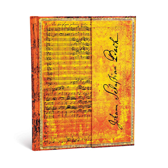 PaperBlanks Bach Cantata Hard Cover Single Ruled, Ultra
