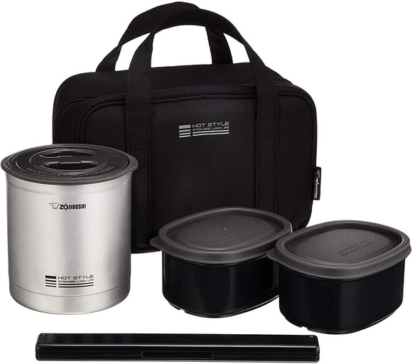 Zojirushi Stainless Vacuum Insulated Lunch Box, 960ml, Matte Silver (SZMA-04-SU)
