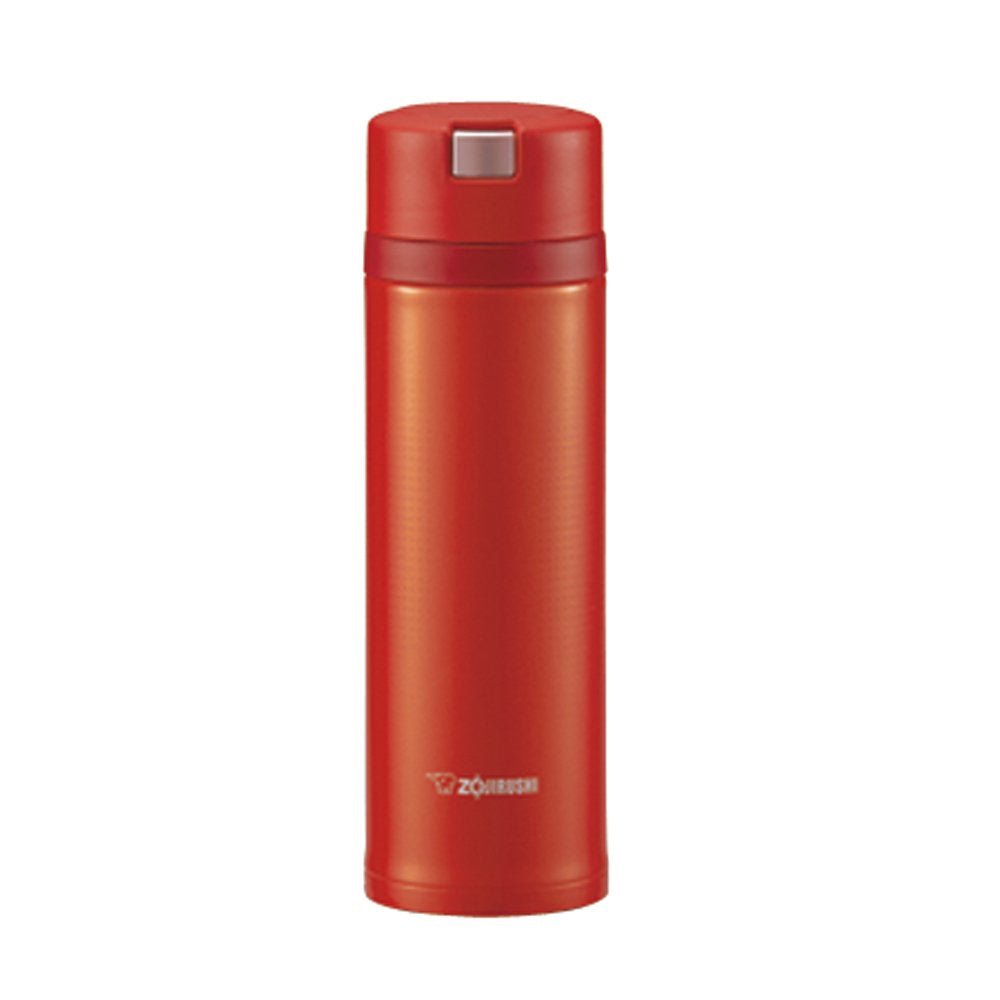 Zojirushi Stainless Steel Vacuum Insulated Bottle, 0.48L, Scarlett (SM-XB48-RV)