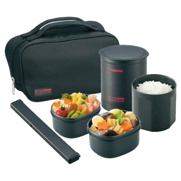 Zojirushi Stainless steel Vacuuum Insulated Lunch Box (ZR-SZKA-02)