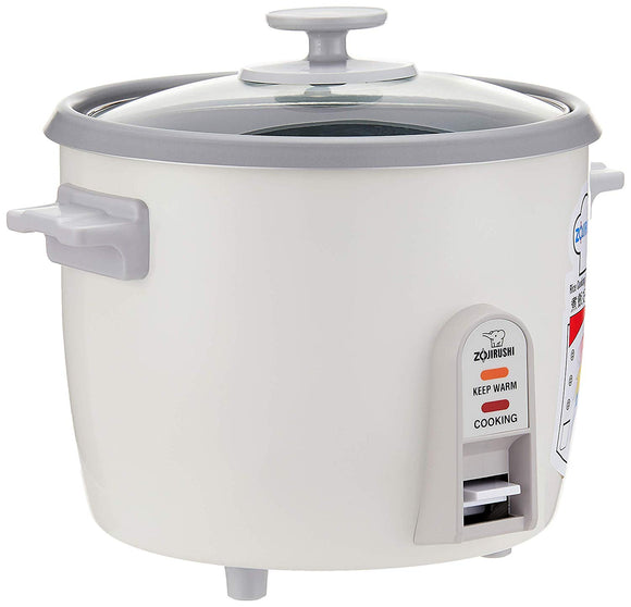 Zojirushi Eletric Rice Cooker & Steamer, 1 Litre, White (NH-SQ-10-WB)