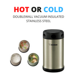 Zojirushi Vacuum Insulated Food Jar, 750ml, Stainless Steel (SW-FBE75-XA)