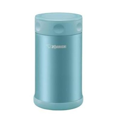 Zojirushi Stainless Steel Vacuum Insulated 750ml Food Jar, Soft Blue (SW-FCE75-AB)