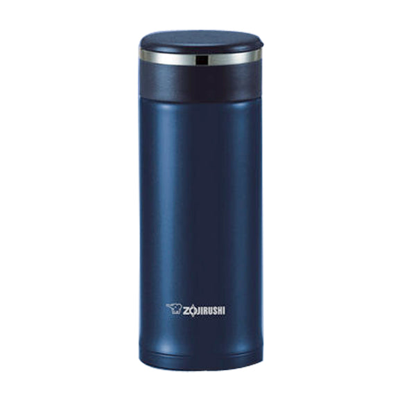 Zojirushi Stainless Steel DEEP Blue Vacuum Bottle,0.46L (SM-JTE46-AD)