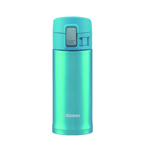 Zojirushi Stainless Steel Vacuum Insulated Bottle, 0.36L, Light Blue (SM-KB36-AW)