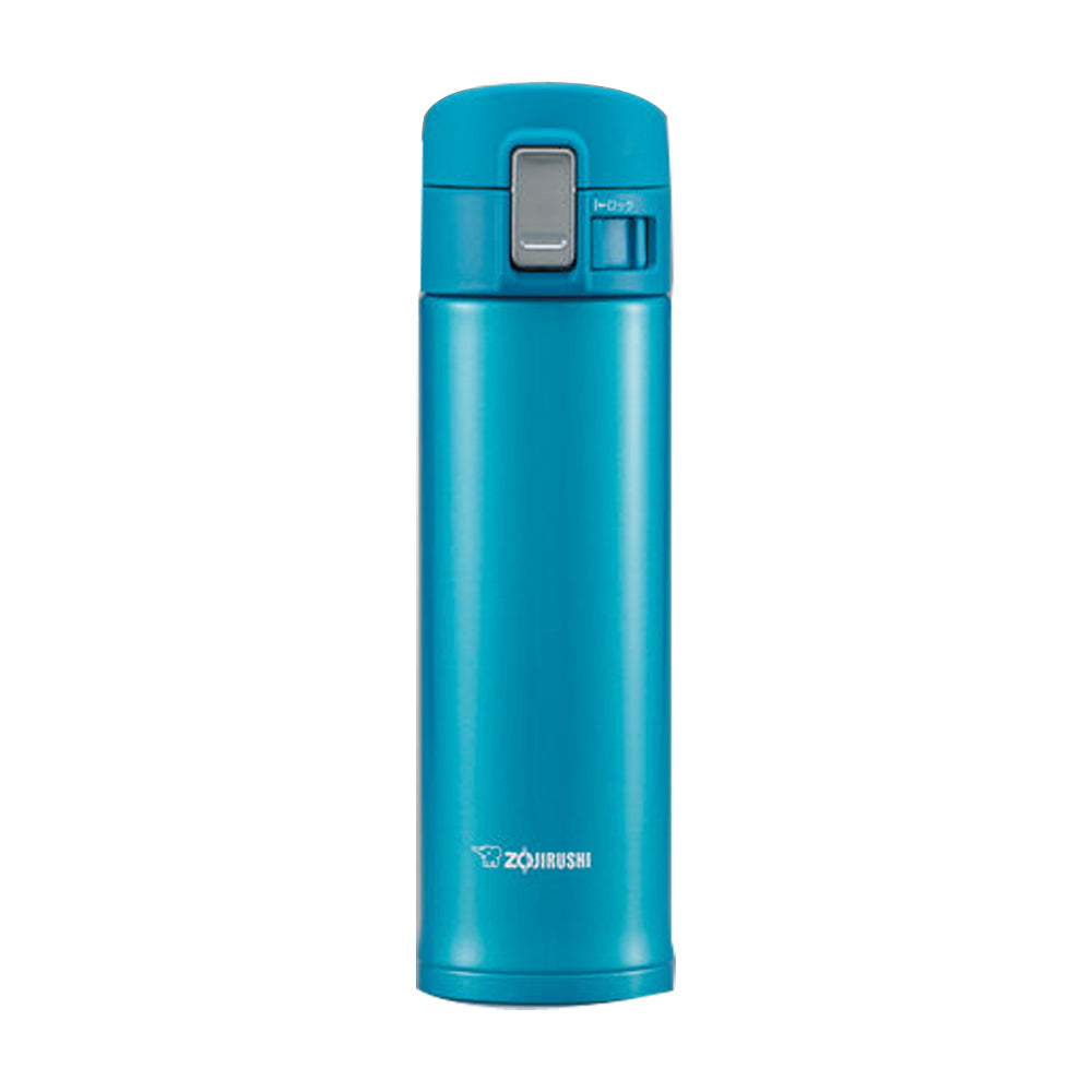 Zojirushi Stainless Steel Marine Blue,Vacuum Bottle 480ml (SM-KB48-AW)