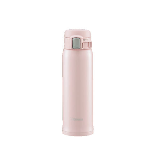 Zojirushi Stainless Steel Vacuum Insulated Pearl Pink 480 ml Bottle (SM-SA48-PB)