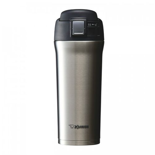 Zojirushi Stainless Steel,Vacuum Bottle 480ml Stainless (SM-YAF48-XA)