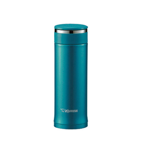 Zojirushi Stainless Steel Vacuum Insulated Bottle, 0.3L, Emerald Blue  (SM-EC30-GC)