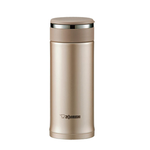 Zojirushi Stainless Steel Tuff Mug Bottle, 0.36L,  Cinnamon Gold (SM-JD36-NL)