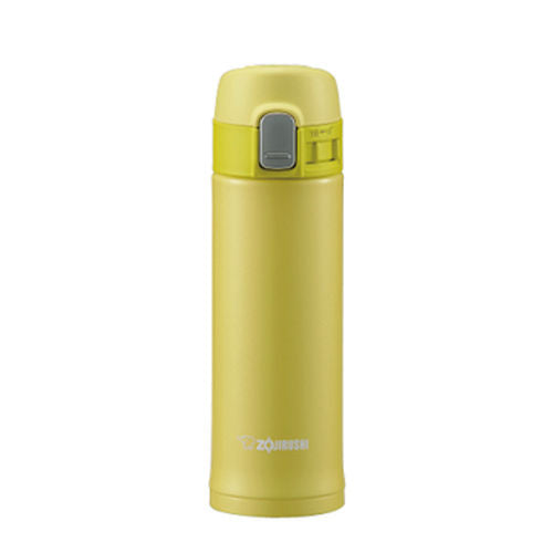 Zojirushi Stainless Steel Vacuum Bottle, 300ml, Pearl Yellow (SM-PB30-YP)