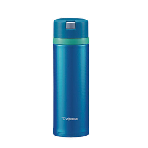 Zojirushi Stainless Steel Vacuum Insulated Bottle, 0.48L, Marine Blue (SM-XB48-AM)