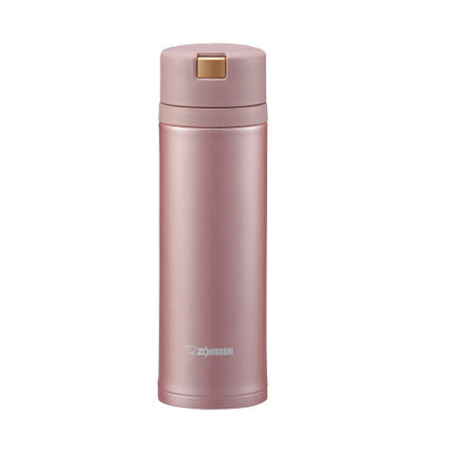 Zojirushi Stainless Steel Vacuum Insulated Bottle, 0.48L, Rose Quartz (SM-XB48-PZ)