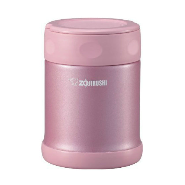 Zojirushi Stainless Steel Vacuum Insulated Food Jar, 350ml, Shiny Pink (SW-EAE-35-PS)