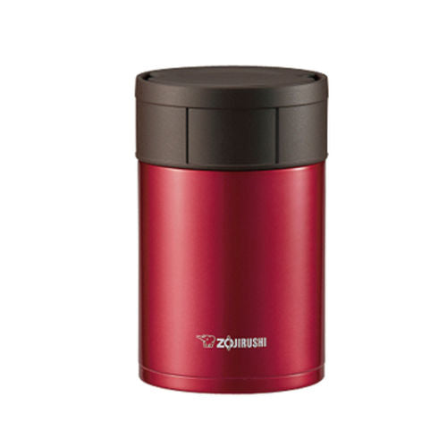 Zojirushi Stainless Steel Food Jar, 550ml, Cherry Red (SW-HAE55 RM)
