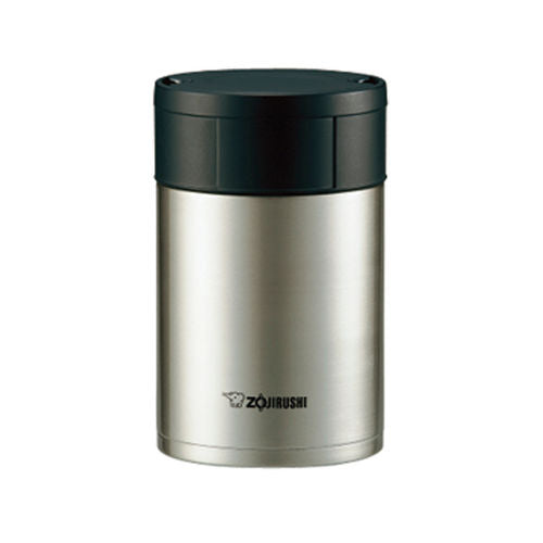 Zojirushi Stainless Steel Vacuum Insulated Food Jar, 550 ml, Stainless (SW-HAE55 XA)