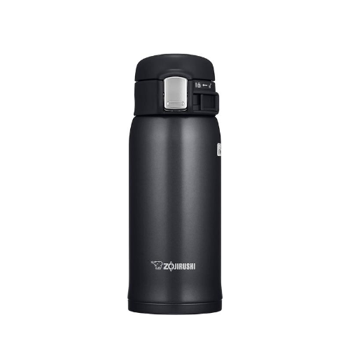 Zojirushi Stainless Steel Vacuum Bottle, 360ml, Black (SM-SA36-BA)