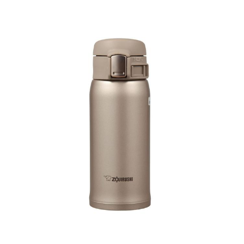 Zojirushi Stainless Steel Vacuum Bottle, 360ml, Cinnamon Gold (SM-SA36-NM)