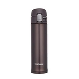 Zojirushi Stainless Steel Vacuum Insulated Bottle 0.34L, Dark Cocoa (SM-PB34-TD)