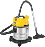 KENT Wet and Dry Vacuum Cleaner 1200-Watt (Metallic Silver)