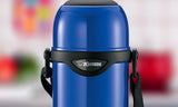 Zojirushi Stainless Steel Vacuum Insulated Bottle, 1 Litre, Metallic Blue (SJ-TG10-AA)