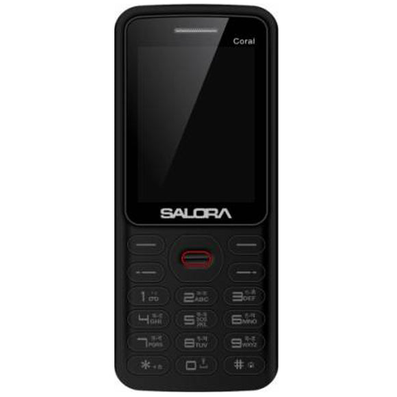 Salora KT 25 Coral Red -Black (1800 mAh)