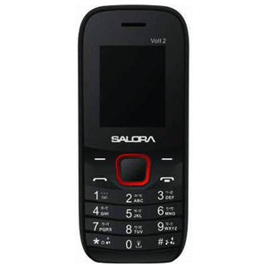 Salora KC12 Volt-2 (Dual Sim) Black-Red (2000mAh)