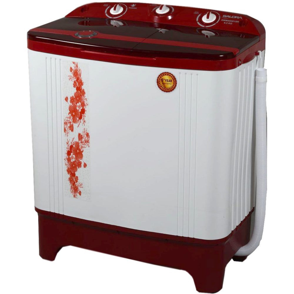 Salora 6.5KG Semi Automatic Washing machine-SWMS6501SR