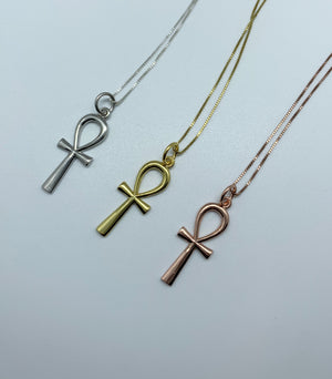 Classic Rose Gold Ankh