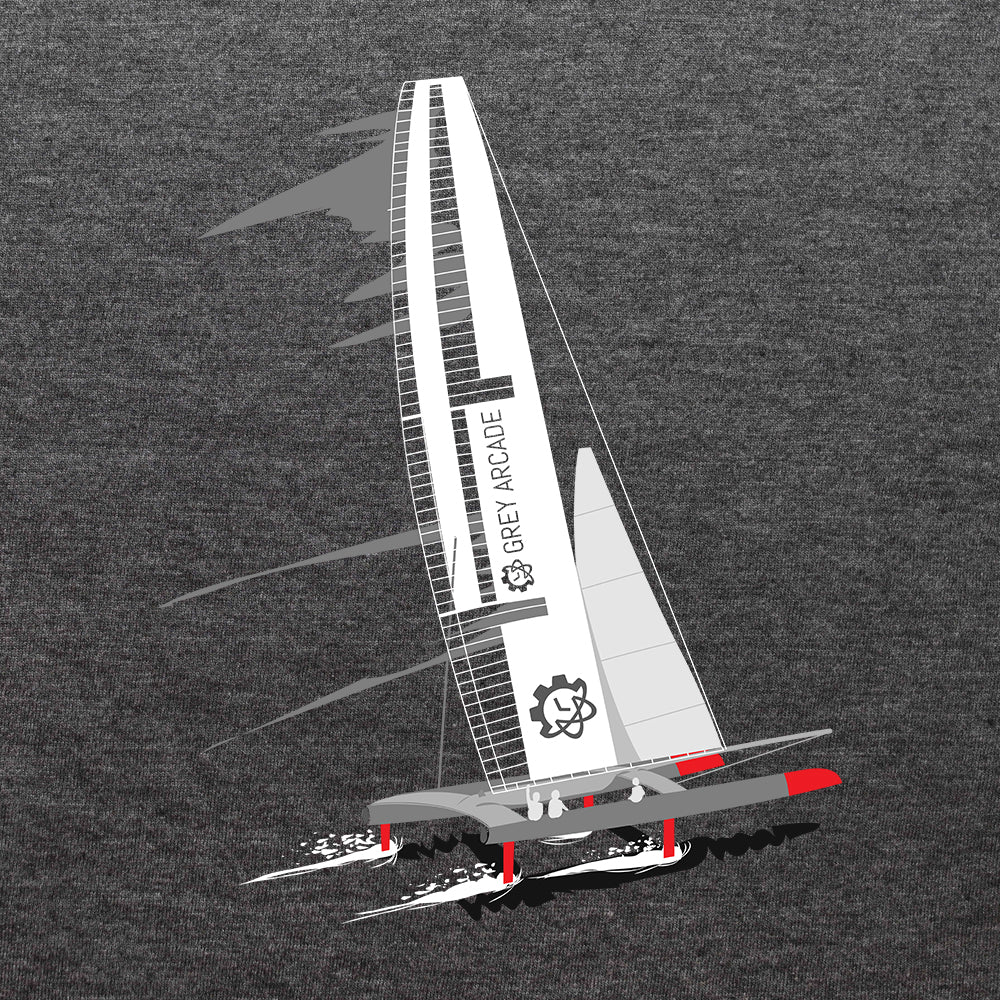 America's Cup Racing Boat