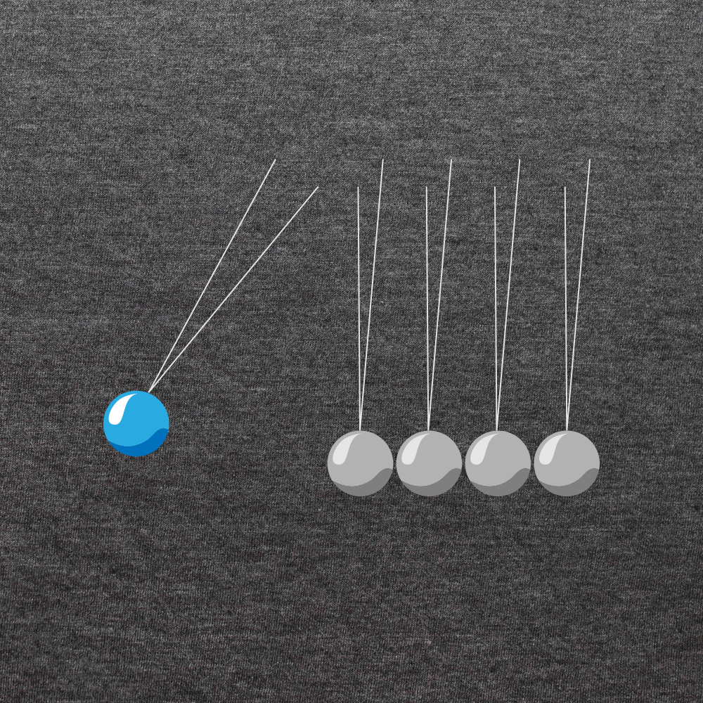 Newton's Cradle Diagram