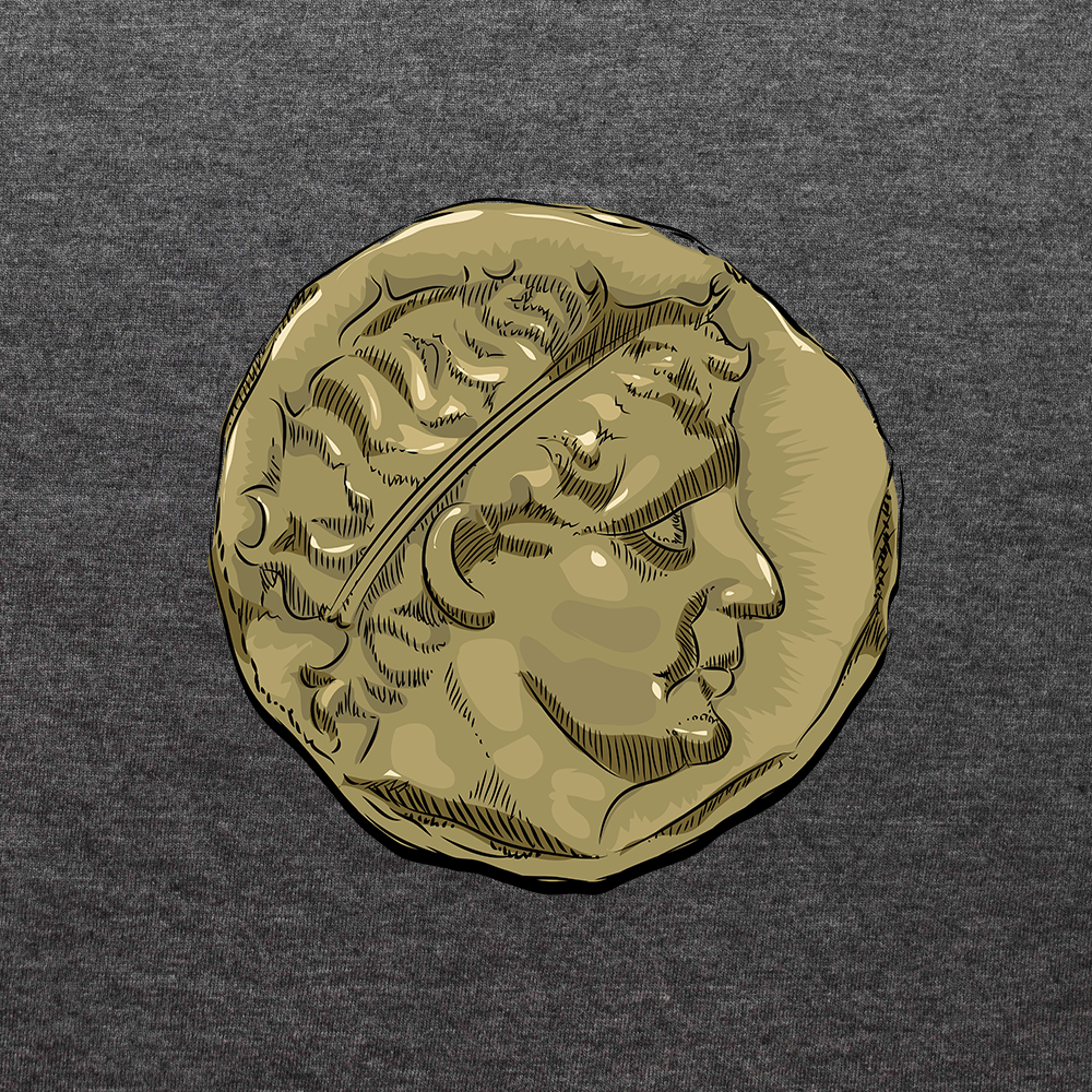 Gold Stater of Antiochos I Soter