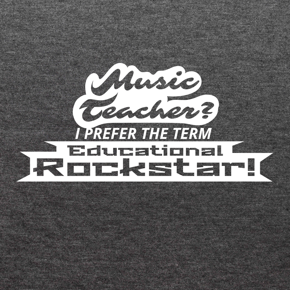 Music Teacher, Educational Rockstar