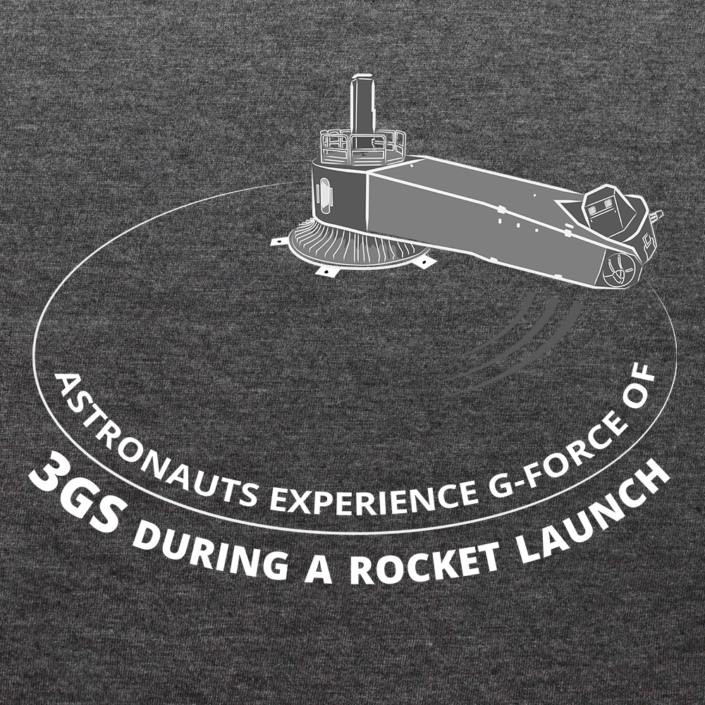 High G-Force Centrifuge Test For Astronauts