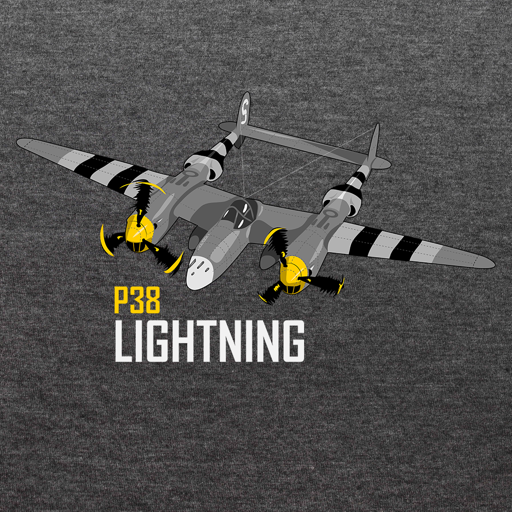 "Lockheed P-38 Lightning a.k.a. ""Fork-Tailed Devil"""