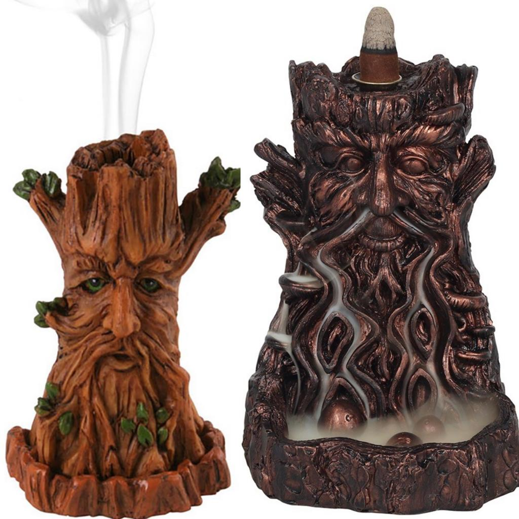 Man of the woods - Green man incense burners