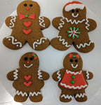 Decorated Gingerbread Men/Woman