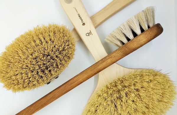 What is dry body brushing
