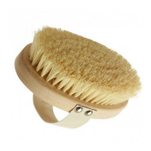 Long Handle Body Brush - Cactus Bristles