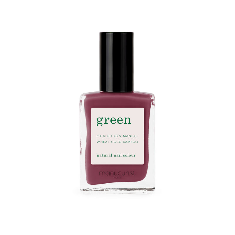 Manucurist Green Nail Polish in Victoria Plum