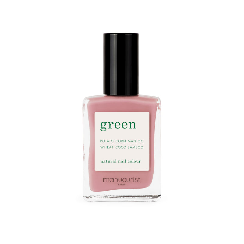 Manucurist Green Nail Polish in Old Rose