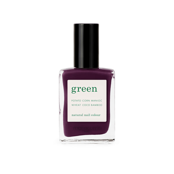 Manucurist Green Nail Polish in Purple Spinel